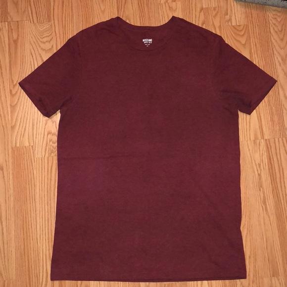 94aab033 Mossimo Supply Co. Shirts | Mossimo Burgundy Tee | Poshmark